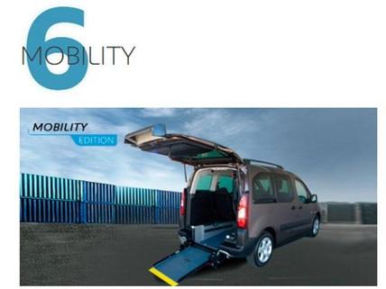 Vehículos transformados Mobility Edition