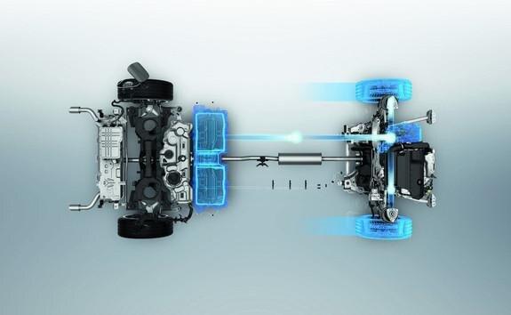 Emisiones de CO2 del motor híbrido enchufable
