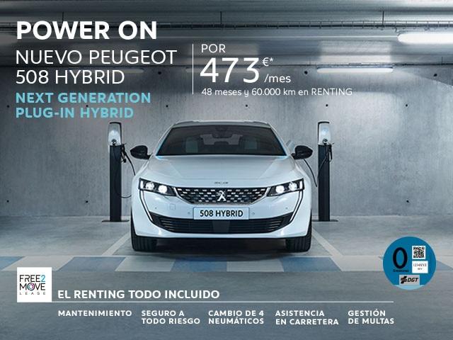 Peugeot 508 Hybrid - Free2move