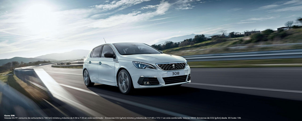 Peugeot 308 Berlina - Coche para profesionales