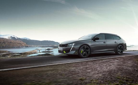 Nuevo coche familiar híbrido de alto rendimiento 508 SW PEUGEOT SPORT ENGINEERED