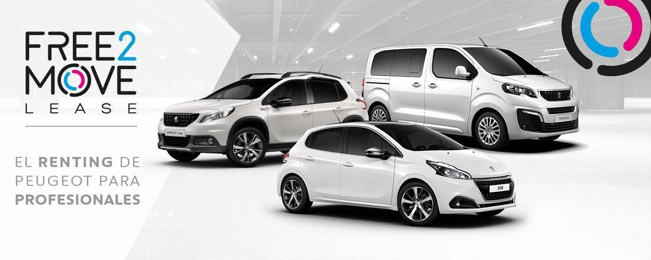 Free2Move Lease: renting para profesionales Peugeot
